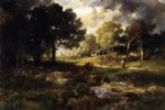 romantic art - romantic landscape by thomas moran