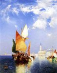 venice posters - the grand canal venice by thomas moran