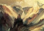 thomas moran the grand canyon of the yellowstone ii painting