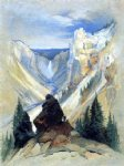 thomas moran the grand canyon of the yellowstone painting