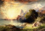 thomas moran ulysses and the sirens posters