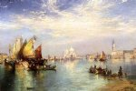 venice original paintings - venice iii by thomas moran