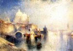 venice posters - venice italy not named by thomas moran