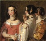 thomas sully famous paintings - gossip by thomas sully