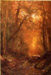 thomas worthington whittredge art - a catskill brook by thomas worthington whittredge