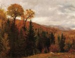 thomas worthington whittredge art - autumn landscape ii by thomas worthington whittredge
