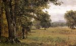 cat art - landscape in the catskills by thomas worthington whittredge