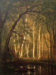 canvas prints - the old hunting ground ii by thomas worthington whittredge