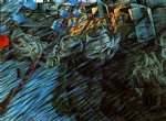 umberto boccioni acrylic paintings - states of mind those who go by umberto boccioni