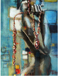 abstract figure work custom art 1 painting