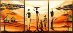 african still life group art 1 painting 86321