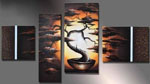 african trees group art 3 painting 86333