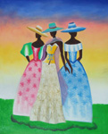 african women 1 paintings