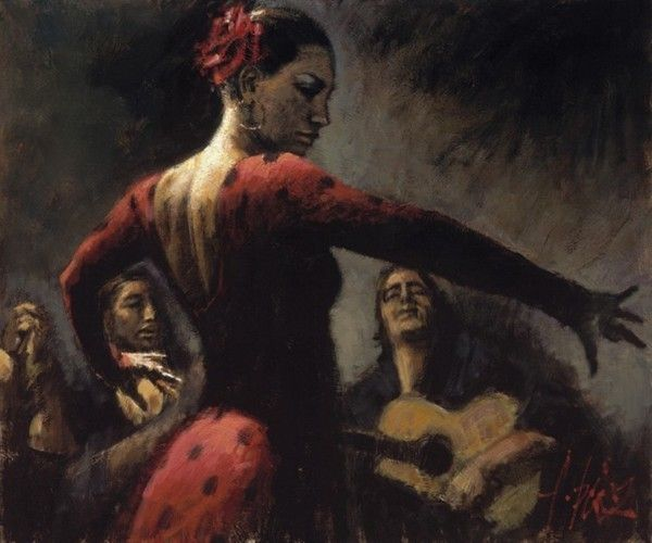 fabian perez tablao flamenco iii prints