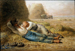 jean francois millet noonday rest paintings