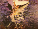 joaquin sorolla y bastida the white boat 84362 painting