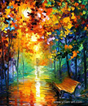 unknown artist modern abstract landscape art 8 painting