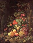 unknown artist abraham mignon still life painting 76715