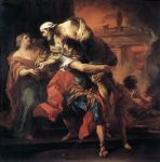 unknown artist aeneas carrying anchises by carl van loo paintings