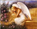 unknown artist angel at rest by tadiello painting 76860