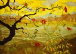 unknown artist apple tree with red fruit by paul ranson painting-76948