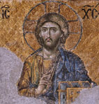 unknown artist christ pantocrator painting