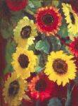 unknown artist emil nolde sunflowers prints