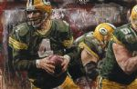 unknown artist football painting 78965