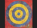 unknown artist watercolor paintings - jasper johns target by unknown artist