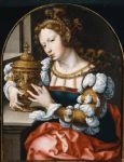 unknown artist mary magdalene by john gossaert painting