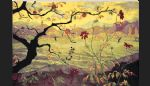unknown artist paul ranson apple tree with red fruit painting 81525