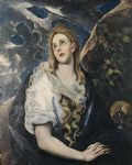 unknown artist saint mary magdalene by el greco art