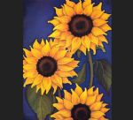 unknown artist sunflowers by will rafuse prints
