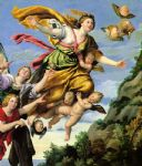 unknown artist famous paintings - the assumption of mary magdalene into heaven domenichino by unknown artist