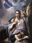 unknown artist the magdalene by el greco art
