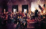 unknown artist the signing of the constitution paintings