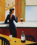 le cafe by various artists painting