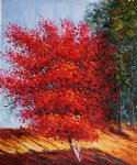 my japanese tree by various artists painting