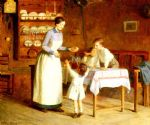 victor gabriel gilbert acrylic paintings - the children s taste by victor gabriel gilbert