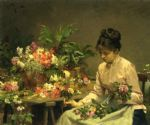 victor gabriel gilbert the flower seller art