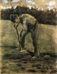 a digger by vincent van gogh painting