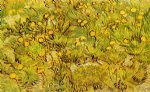 flowers posters - a field of yellow flowers by vincent van gogh