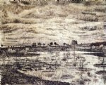 vincent van gogh a marsh painting