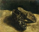 a pair of shoes vii by vincent van gogh painting