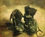 vincent van gogh a pair of shoes painting