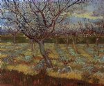 vincent van gogh apricot tree in bloom painting 23360