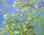 vincent van gogh branches of almond tree in bloom painting-77758