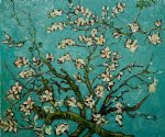vincent van gogh branches of an almond tree in blossom ii painting 23383