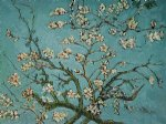 vincent van gogh branches of an almond tree in blossom painting 23385