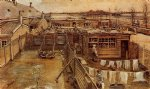 vincent van gogh carpenter s workshop seen from the artist s studio paintings